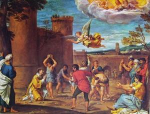 59 Carracci - martirio di Santo Stefano