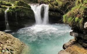11 La bella pozza sotto la sorgente dell'Enna...